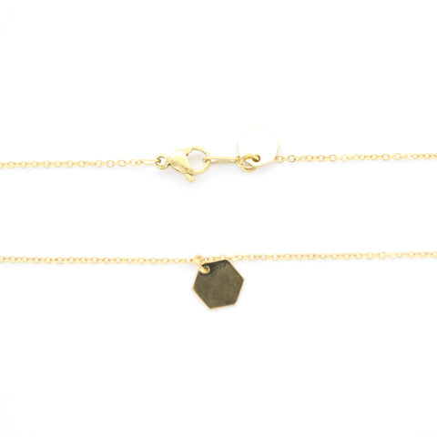Collier Anja or jaune -SOMSO-
