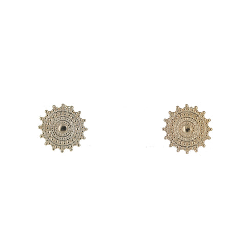 SOMSO: SOMSO - ° Boucles d'oreille SOMSO Rosa or jaune °