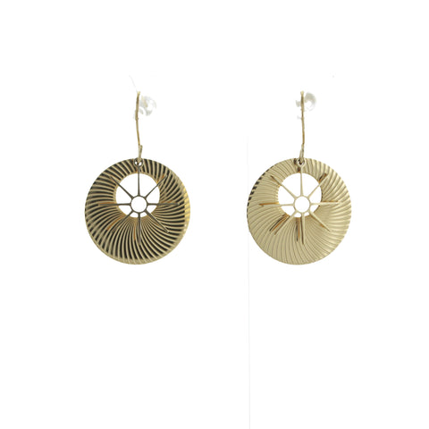SOMSO: ZAG - Boucles d'oreille ZAG Judith or jaune