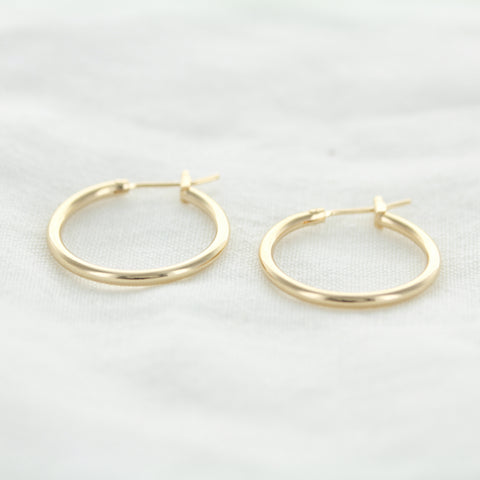 SOMSO: SOMSO - °Boucles d'oreilles Ginger Or  20 mm°
