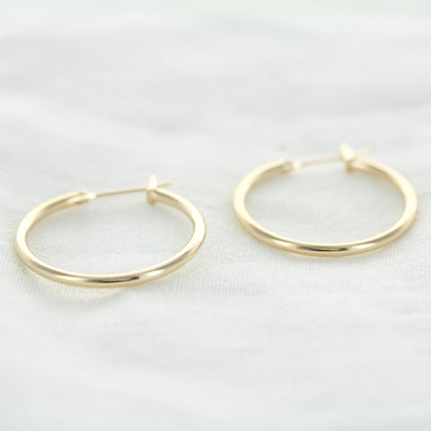 SOMSO: SOMSO - °Boucles d'oreilles Ginger Or  25 mm°