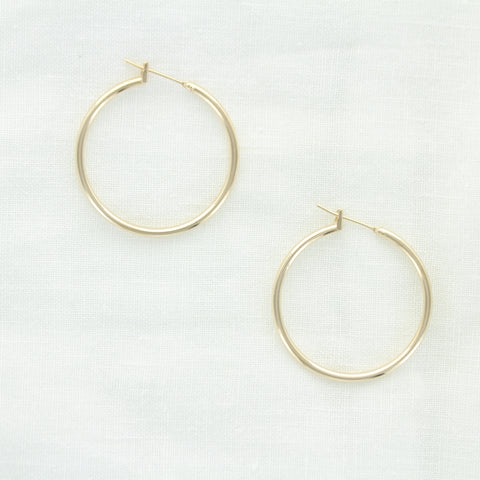 SOMSO: SOMSO - °Boucles d'oreilles Ginger Or  30 mm°