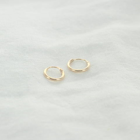 SOMSO: SOMSO - °Boucles d'oreilles Micro Ginger Or 10 mm°