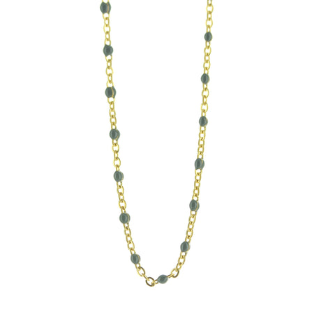 Collier SOMSO Nusa Or / gris
