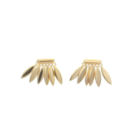 SOMSO: SOMSO - °Boucles d'oreille SOMSO Tale Or°