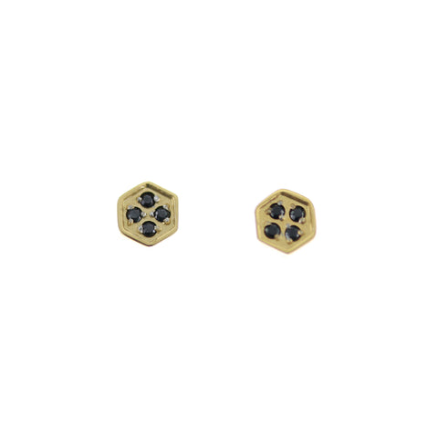 SOMSO: SOMSO - : : Boucles d'oreille SOMSO Rizzo or jaune : :
