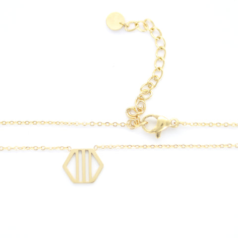 Collier Mona or jaune ::SOMSO::