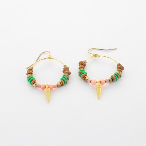 SOMSO: noon - Noon boucles d'oreilles Paseo