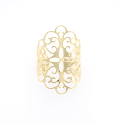 Bague ZAG Anne or jaune