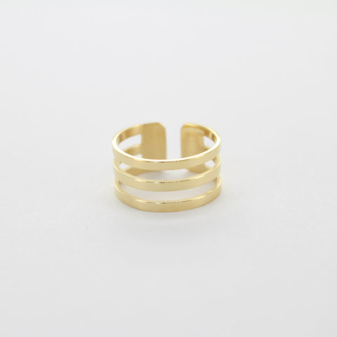Bague ZAG Noly or jaune
