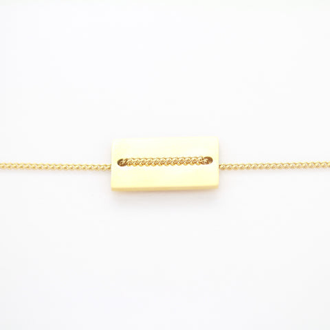 Bracelet ZAG Midtown or jaune