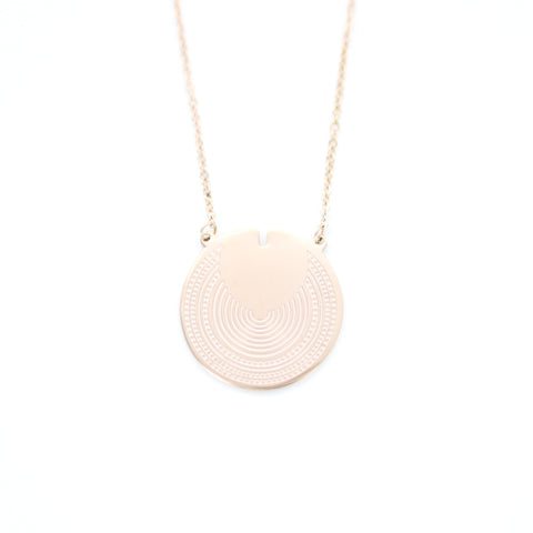 Collier ZAG Lio or rose