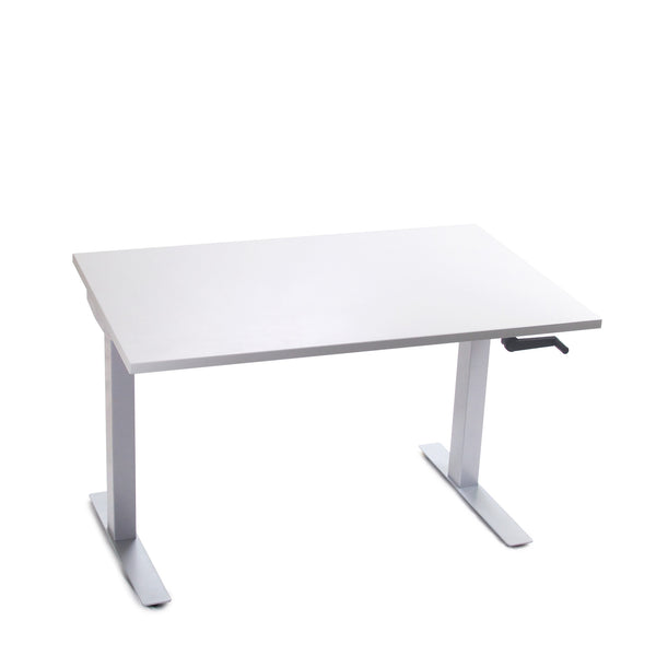 Go-Green | Manual Crank Height-Adjustable Office Desk (30