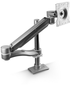 UpDown Concerto Single Monitor, Double Extension Arm