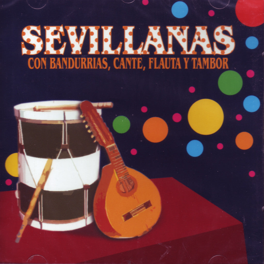 Image of Solo Compas, Sevillanas con Cante Bandurrias y Tambor, CD