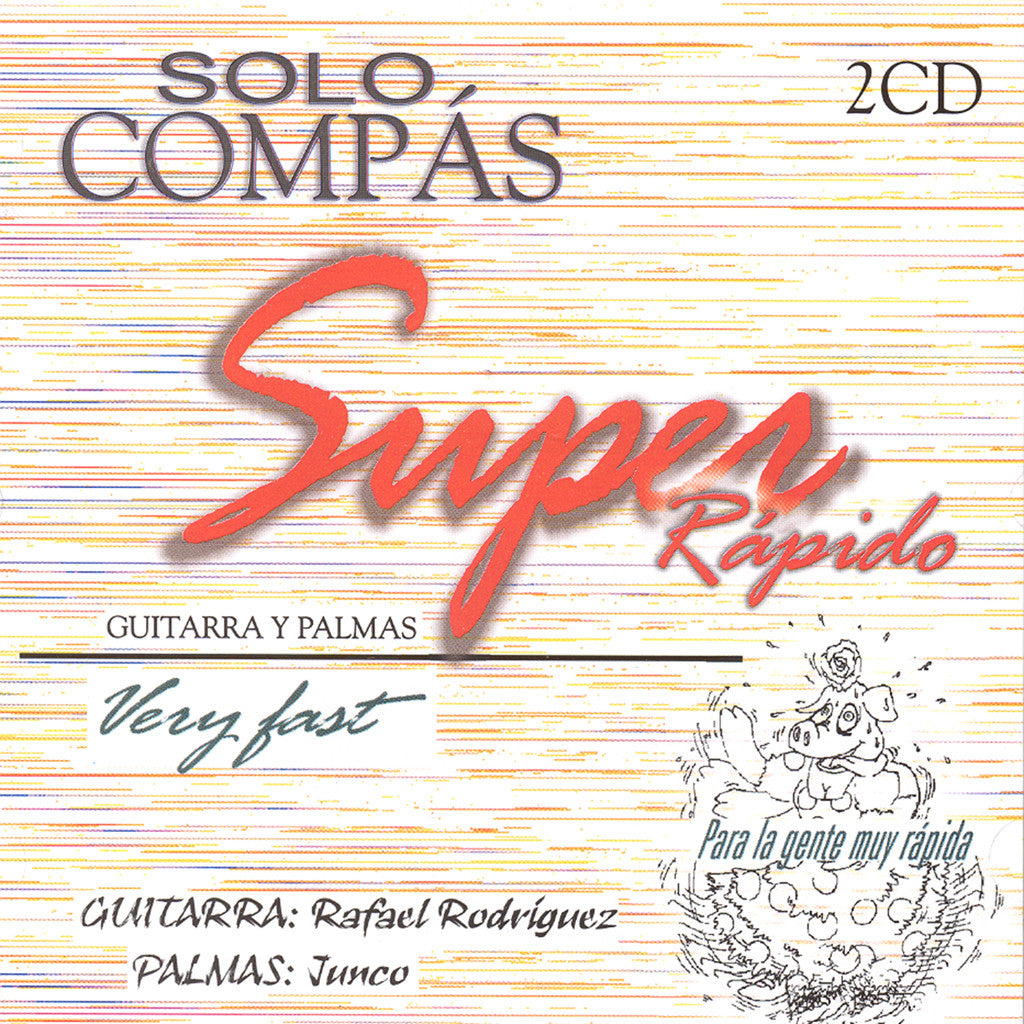 Image of Solo Compas, Super Rapido, 2 CDs