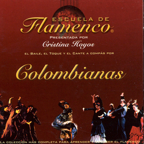 Image of Escuela de Flamenco, Colombianas, 2 CDs