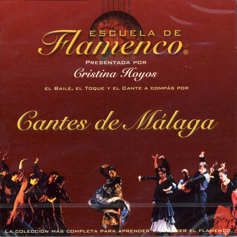 Image of Escuela de Flamenco, Cantes de Malaga, CD