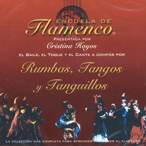 Image of Escuela de Flamenco, Rumbas Tangos y Tanguillos, CD