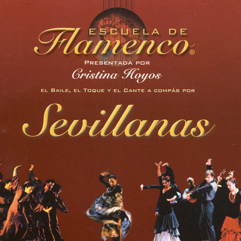 Image of Escuela de Flamenco, Sevillanas, CD