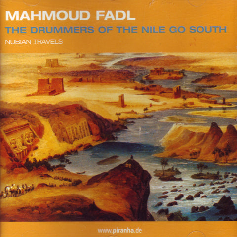 Image of Mahmoud Fadl, Nubian Travels: The Drummers of the Nile Go South, CD