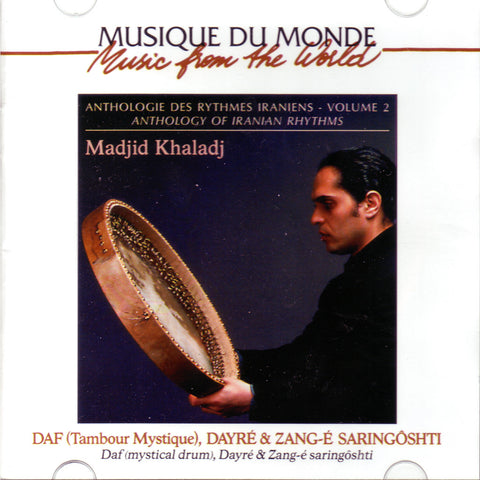 Image of Madjid Khaladj, Anthology of Iranian Rhythms, CD