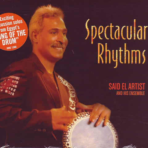 Image of Said El Artist, Spectacular Rhythms, CD