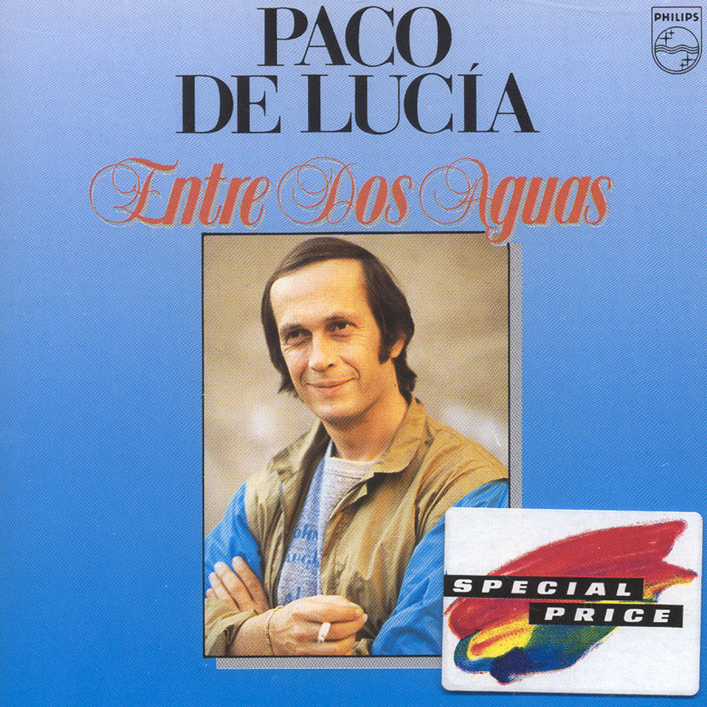 Image of Paco de Lucia, Entre Dos Aguas, CD