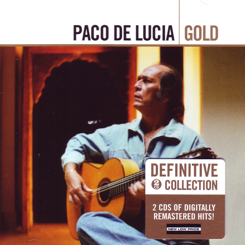 Image of Paco de Lucia, Gold, 2 CDs