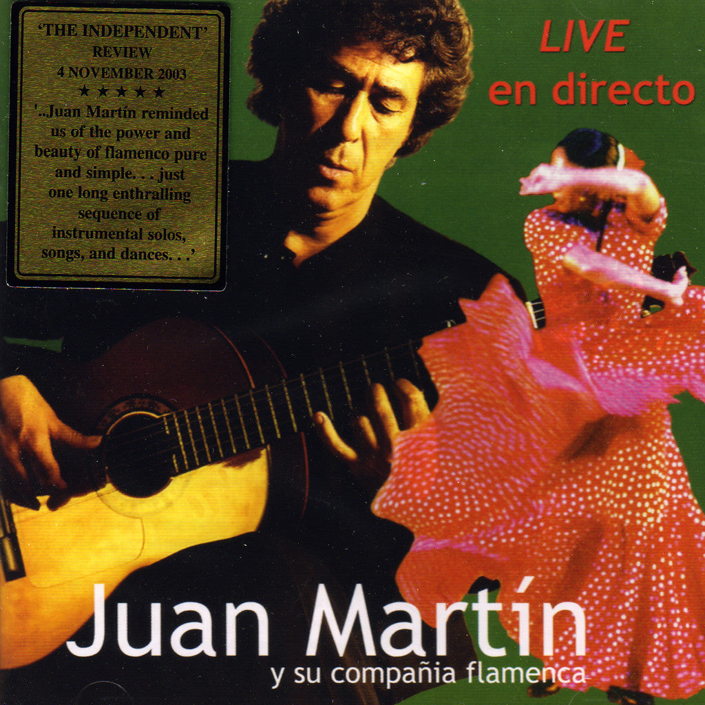 Juan Martin Live 2 Cds Flamenco Connection