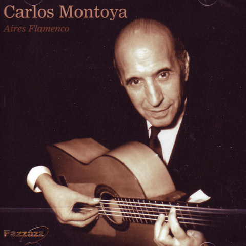 Image of Carlos Montoya, Aires Flamenco, CD