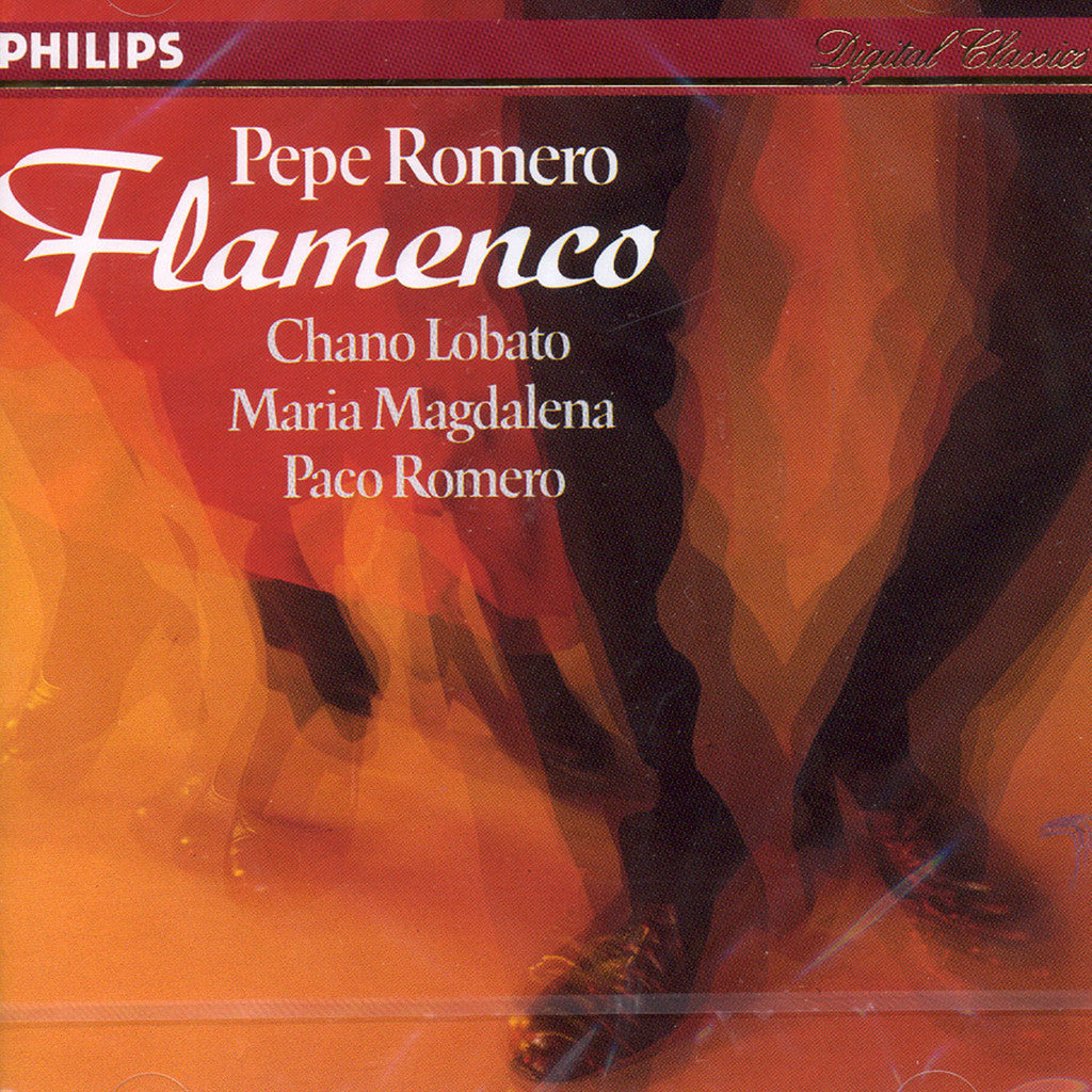 Image of Pepe Romero, Flamenco (w/Chano Lobato & others), CD