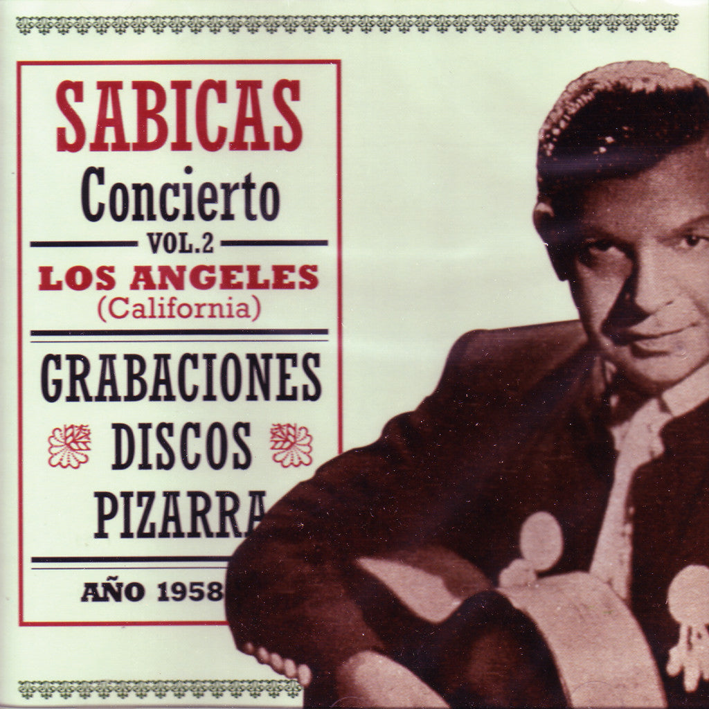 Image of Sabicas, Los Angeles: Concierto vol.2, CD
