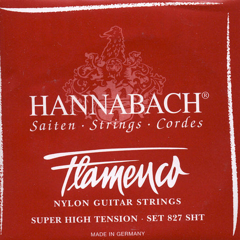 Image of Hannabach / Flamenco / Super High Tension (827-SHT)