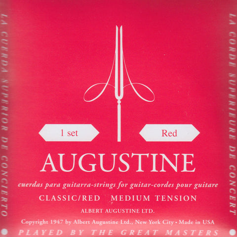 Image of Augustine / Classic Red / Medium Tension (Classic/Red)