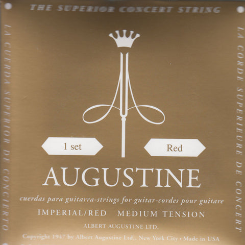 Image of Augustine / Imperial Red / Medium Tension (Imperial/Red)