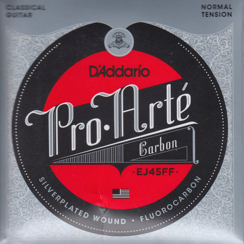 Image of D'Addario / Pro Arté Carbon / Normal Tension (EJ-45-FF)