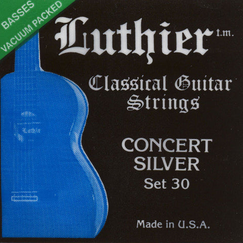 Image of Luthier / Concert Silver / Medium-Hard Tension (30)