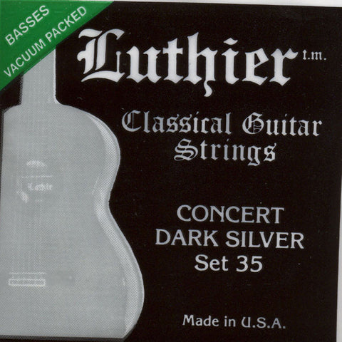 Image of Luthier / Concert Dark Silver / Medium-Hard Tension (35)
