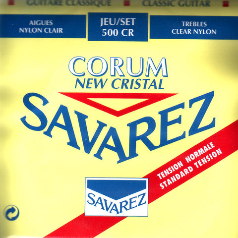 Image of Savarez / New Cristal Corum / Standard Tension (500-CR)