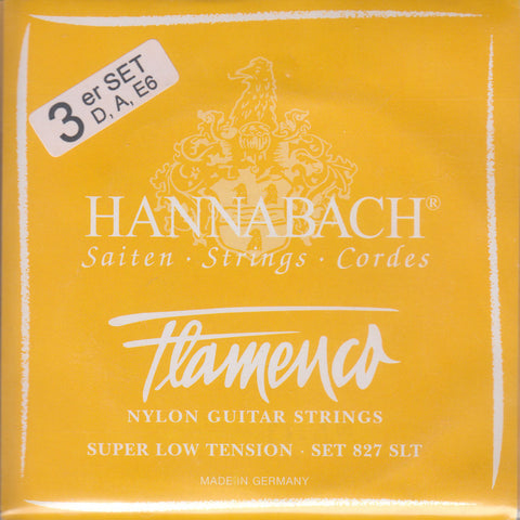 Image of Hannabach / Flamenco / Super Low Tension BassPack (827-SLT BassPack)