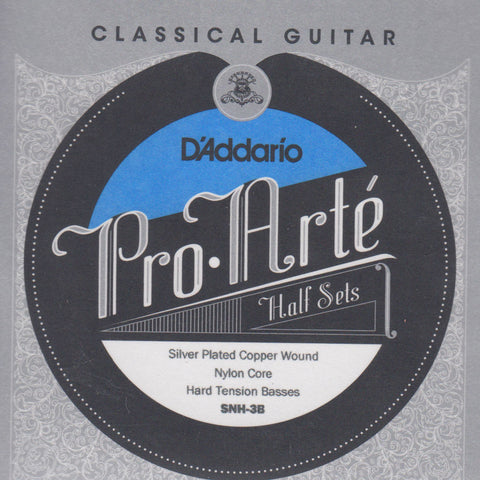 Image of D'Addario / Pro Arté Nylon Core / Hard Tension BassPack (SNH-3B)