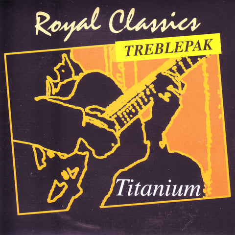 Image of Royal Classics / Titanium / Medium High Tension TreblePack (TT-30)