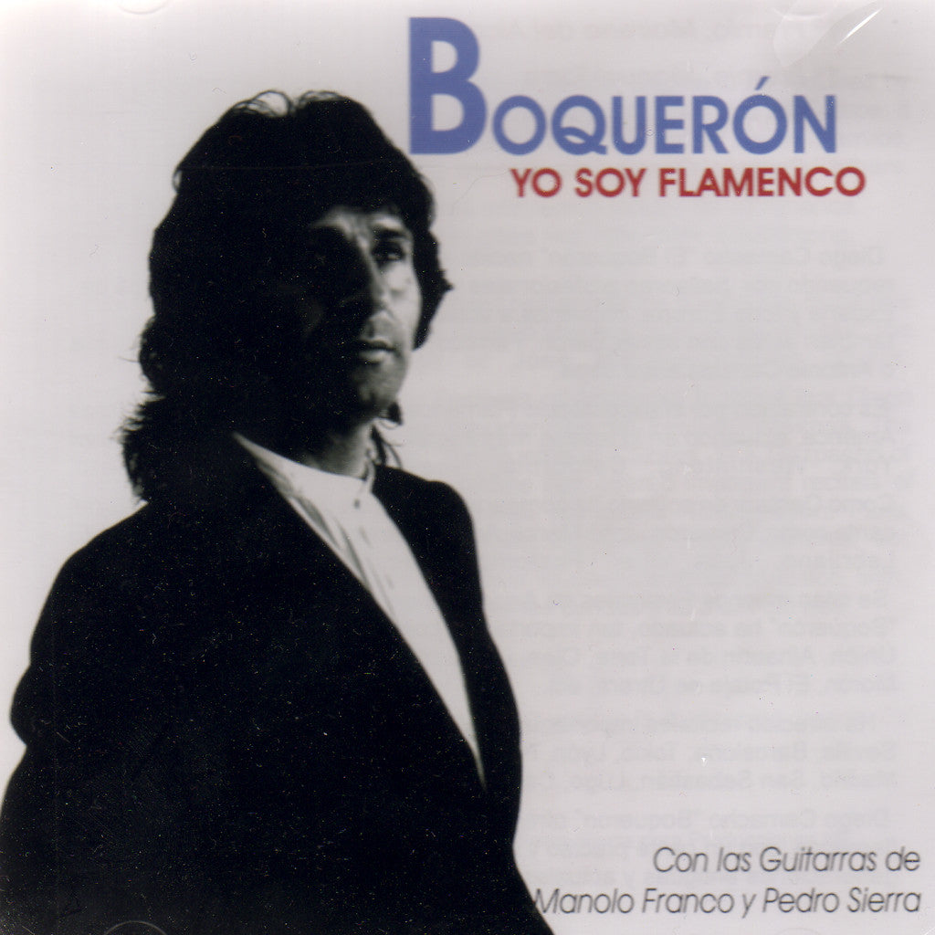 Image of Boqueron, Yo Soy Flamenco, CD