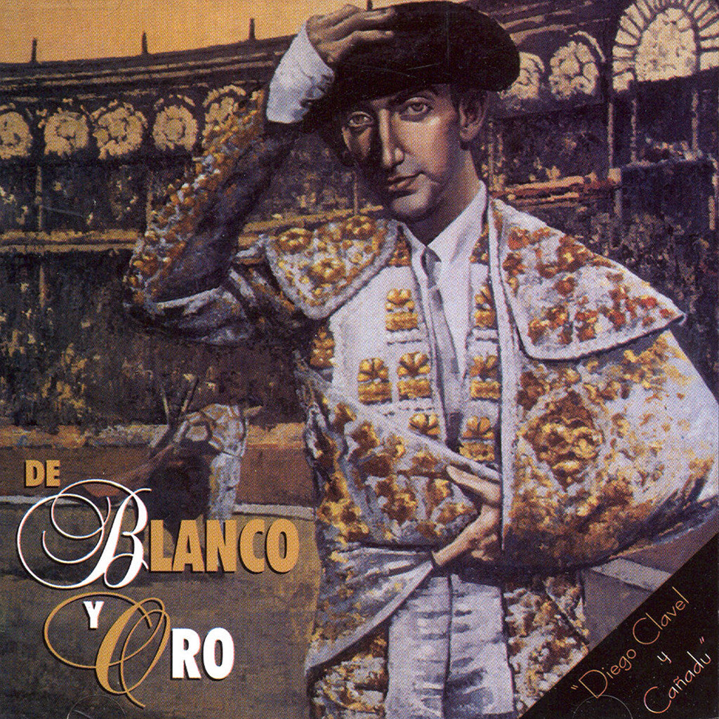 Image of Diego Clavel, De Blanco y Oro (w/ Cañadú), CD