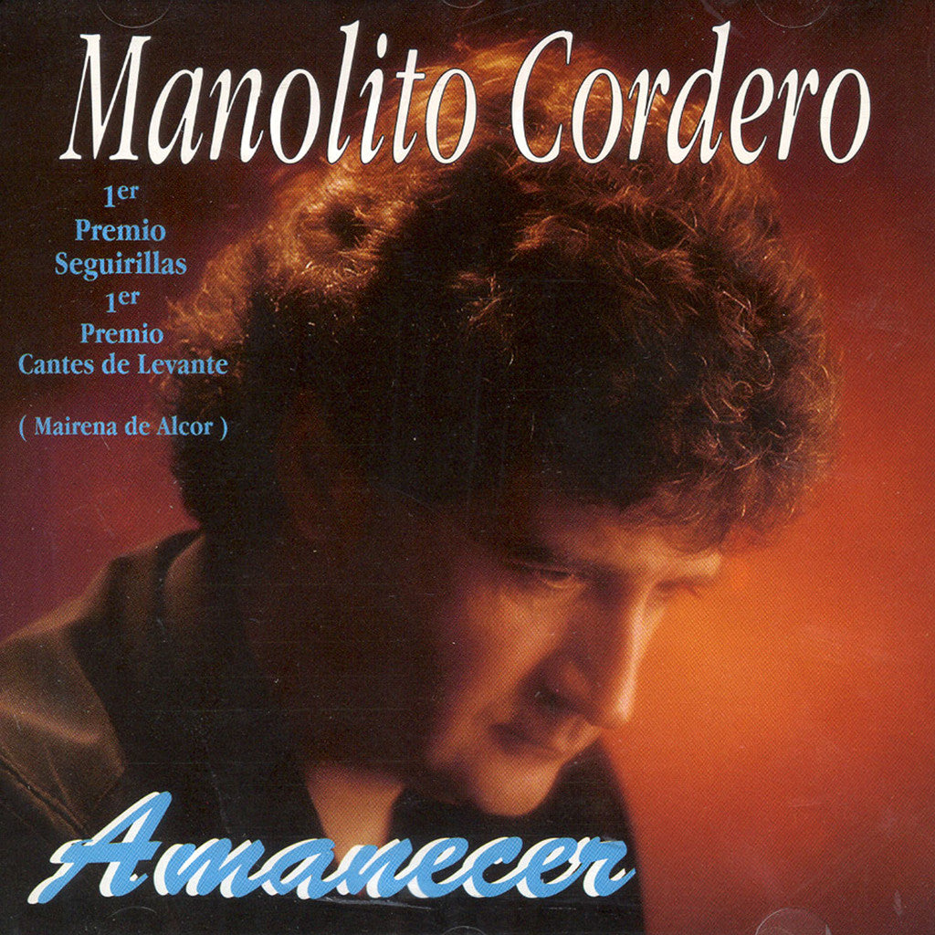 Image of Manolito Cordero, Amanecer, CD