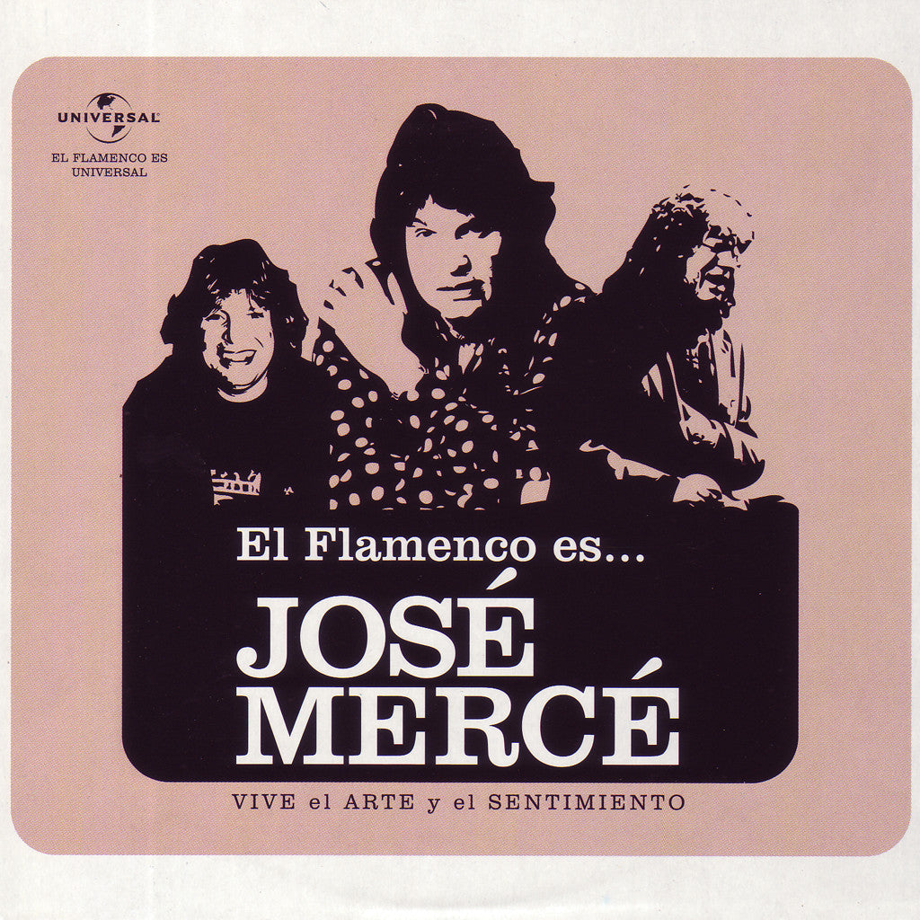 Image of José Mercé, El Flamenco Es..., CD