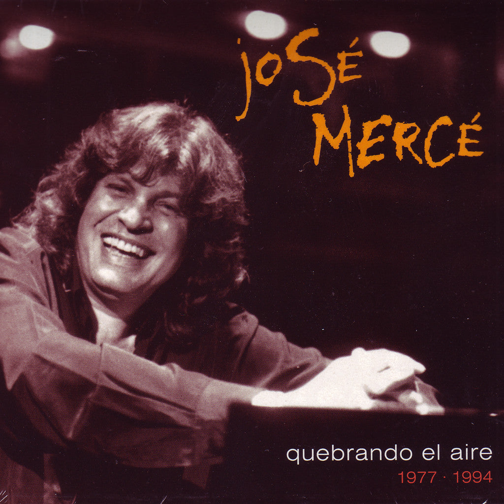Image of José Mercé, Quebrando el Aire: 1977-1994, CD