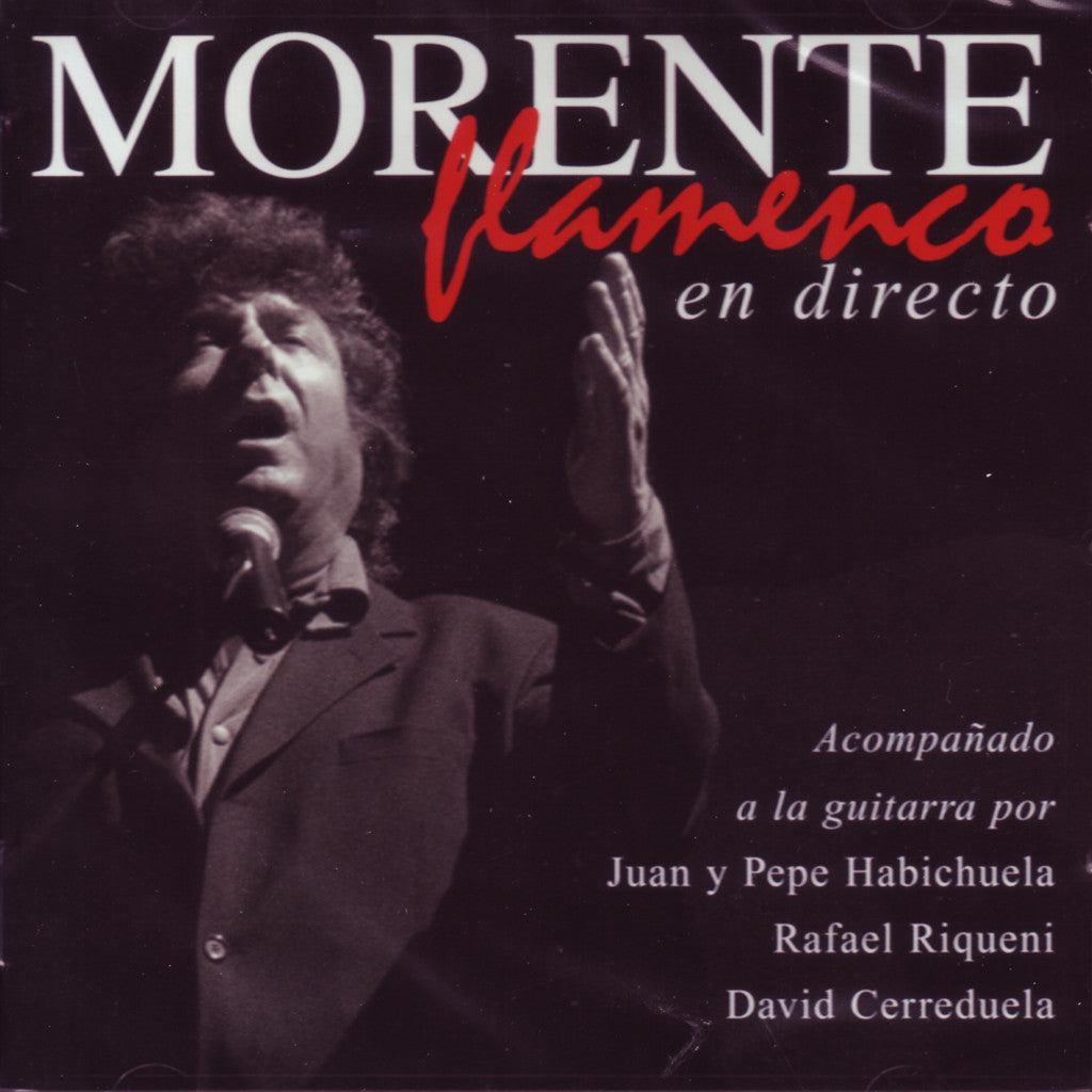 Image of Enrique Morente, Flamenco en Directo, CD