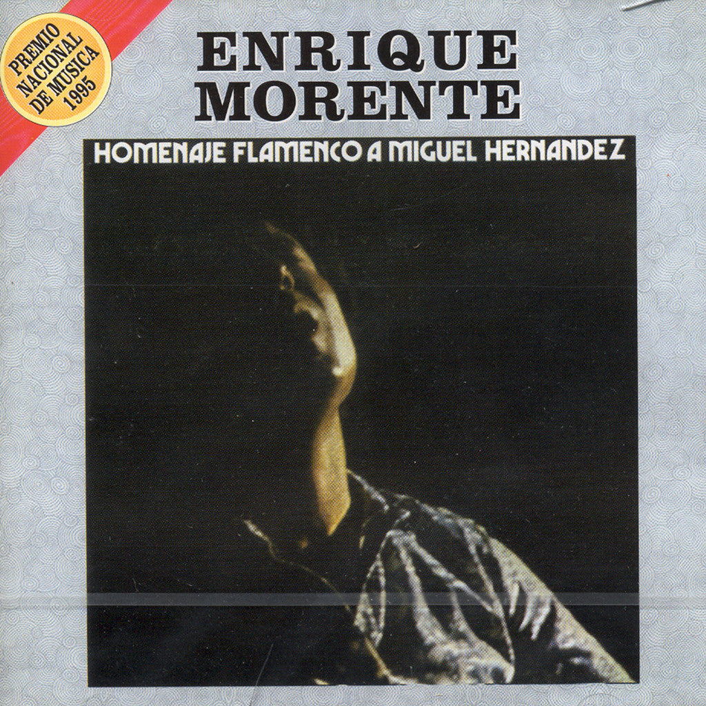 Image of Enrique Morente, Homenaje Flamenco a Miguel Hernandez, CD